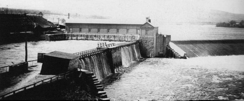 Holyoke Dam began 1847