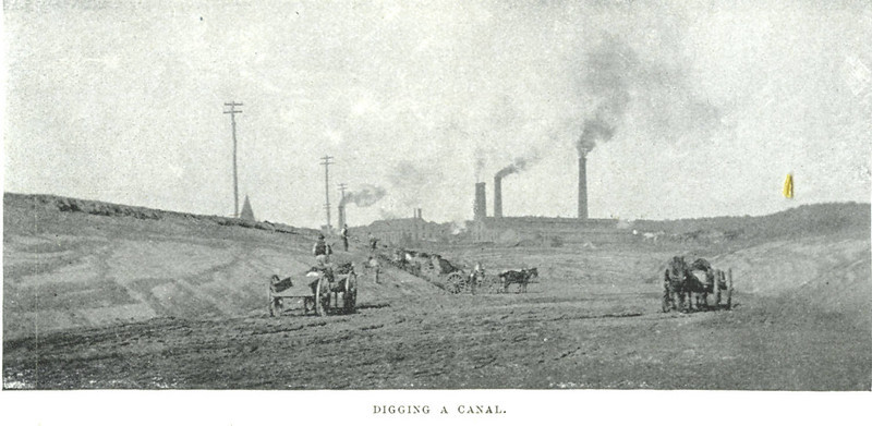 Holyoke Digging a Canal