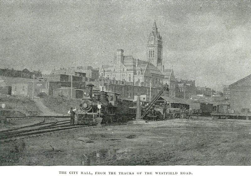 Holyoke From Westfield Road Tracks