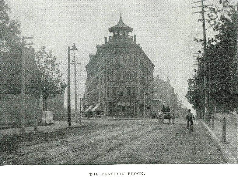 Holyoke Flat Iron Block
