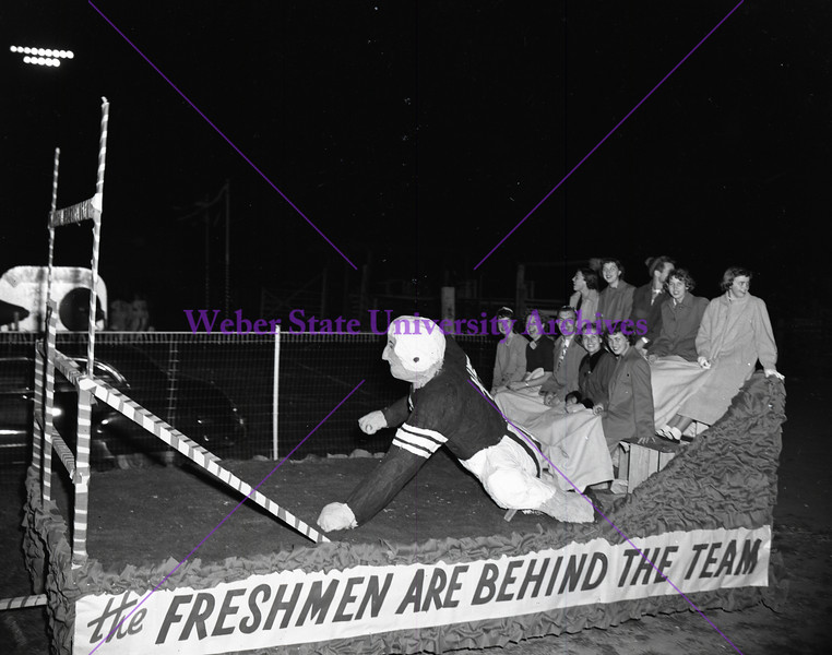 1950 Freshman Float