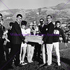 Carrying the Victory Bell at Homecoming 1965