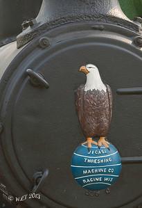 Emblem On Front Of Boiler