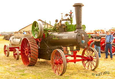 1880's Steam Tractor