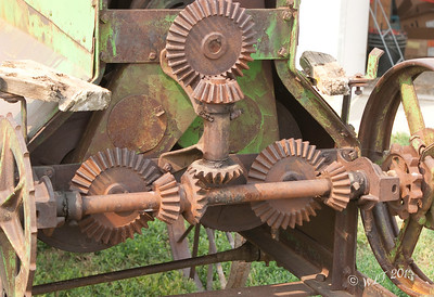 Open Gears on Farm Equipment Can you say missing fingers, or cought clothing?