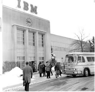 IBM in Kingston through the years