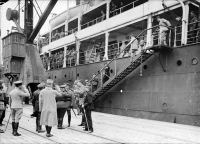 Russians arrive in Marseille, France May 1916.