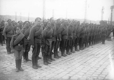 The Russian army in France May 1916.