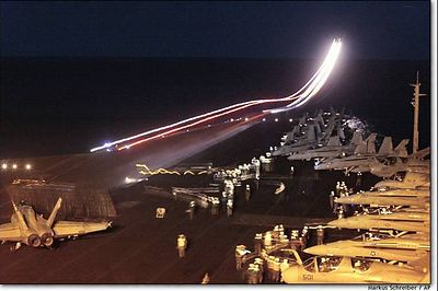 Air Craft Carrier liftoff