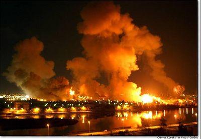 Burning Baghdad