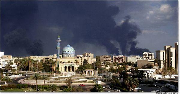 Smoking Baghdad