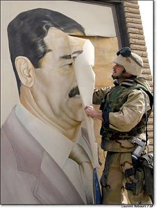 Peeling Saddam