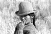 1970-056-004-Boliv young Quechua w- hat
