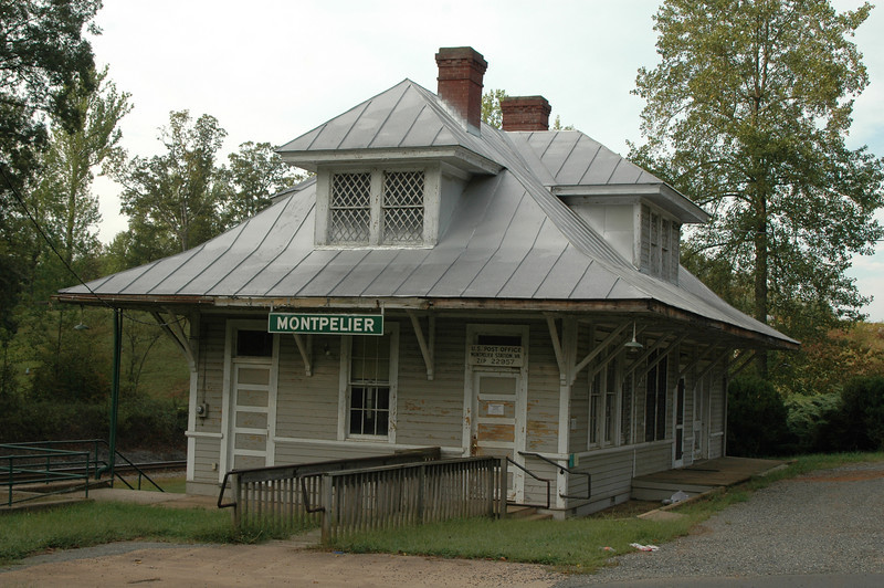 Railroad Station and Post Office