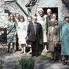 Crawshawbooth Quakers 1960s Far left Jane Hargreaves 3rd from Elft Elizabeth Trickett door left Edna Trickett