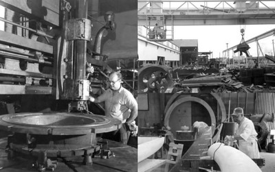 Florida Machine & Foundry in 1965.