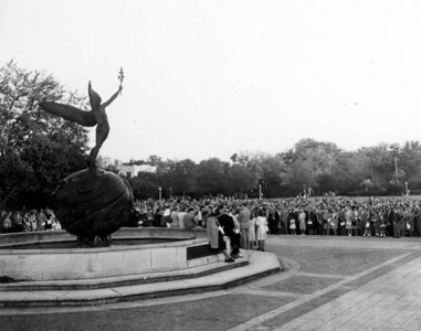 Easter service at Memorial Park in 1947. State Archives of Florida, Florida Memory, http://floridamemory.com/items/show/66276 C005163