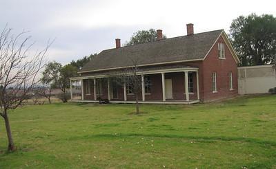 Jensen-Alvarado Ranch, Rubidoux.  Ranch House. 8 Feb 2007