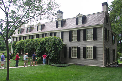 The Old House had been used as an army barracks before the Adams family purchased it. Abigail renoved it, and added several rooms when Adams was serving overseas.