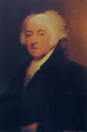 John Adams, 2nd President of the U.S., Vice President under Washington, 1735 - 1926 (died on the 50th anniversary of Independence Day, two hours after Thomas Jefferson).