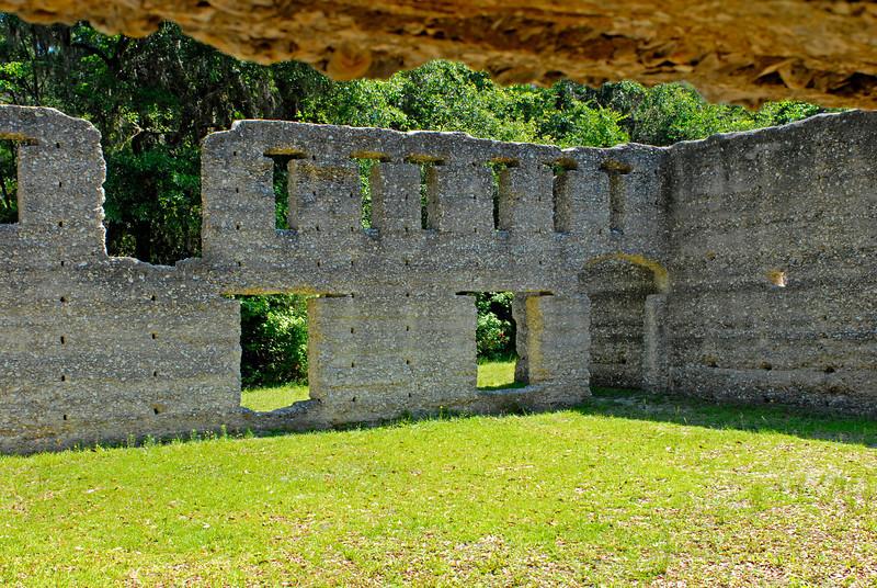 Tabby Sugar Works built by John Houstoun McIntosh near St. Mary's, Georgia around 1825