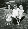 Dave & June Judd with children Judy and Priel