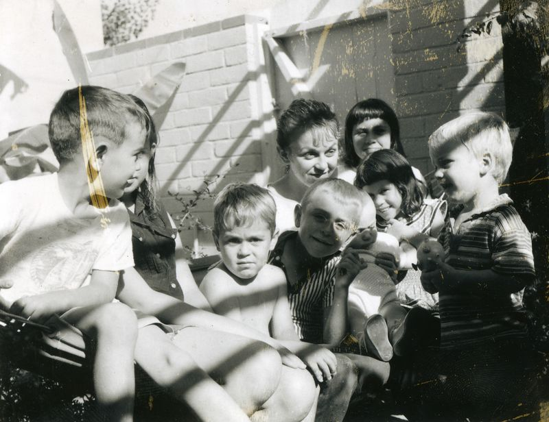 Judd Children - David, Robert, Grant, Judy, others