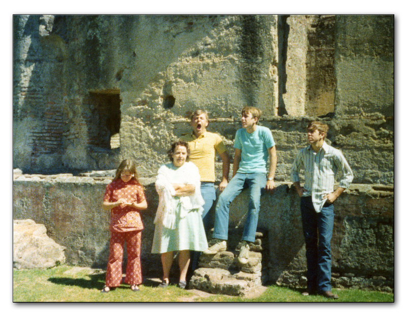 Laurie, Grandma Judd, Grant, Mark and Matt