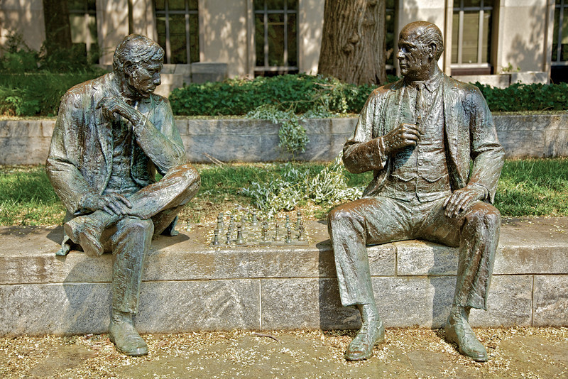 Chess Players in John Marshall Park