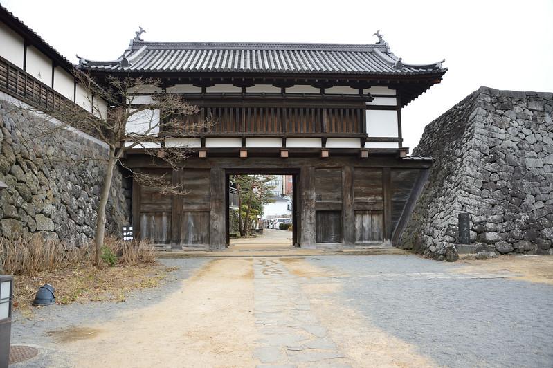 Otemon, Main gate of Komoro castle