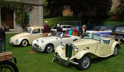 LINCOLN CASTLE CLASSIC CAR RALLY