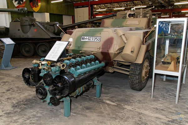 Engine for Jagdpanzer 38t