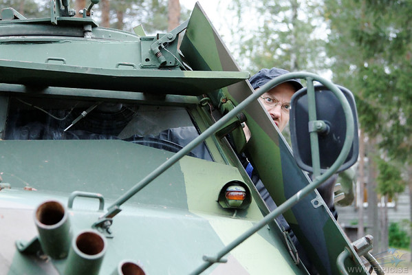 KP Armoured car used extencibly by the Swedish UN missions
