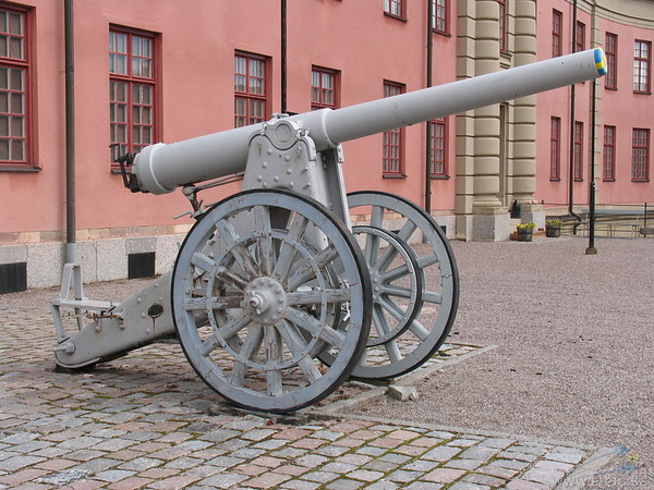 12 cm gun m/1885. Was grouped in the 7:th battery on Värmdö.