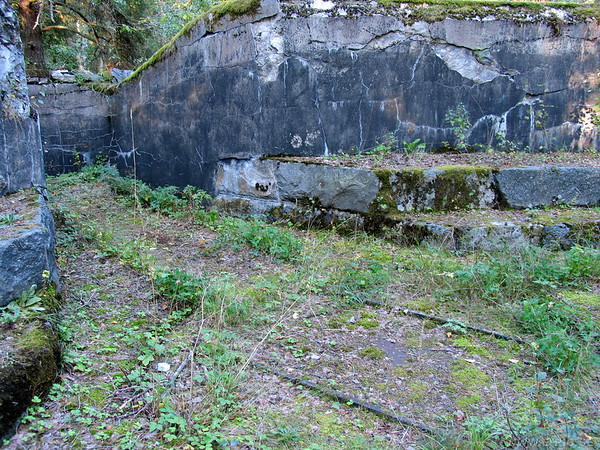 Turntable and gun position