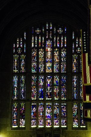 Inside chapel.