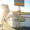 Hostess Thriftshop on San Fernando in Burbank/Glendale - early morning an hour before it opens