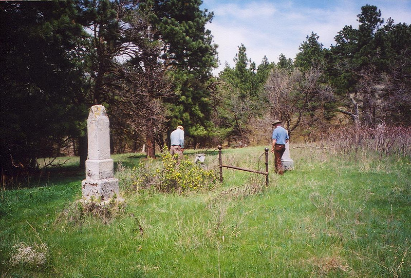 Crook City cemetery.  Thanks to Jim and Verla Weaver for this photo.