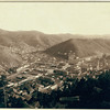 Early Deadwood from Forest Hill.  An undated photograph taken from Mt. Moriah taken by J.C.H. Grabill. From the John H.C. Grabill Collection, Library of Congress, Washington, DC