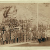 December 28, 1890.  The final Deadwood stage.  Dignitaries and others pose for the occasion.  From the John H.C. Grabill Collection, Library of Congress, Washington, DC