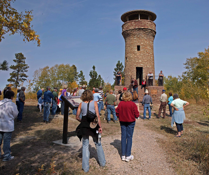 106 people signed up to participate in the tour, which has become a staple of LCHS traditions.<br /> <br /> Friendship Tower was erected at the direction of Seth Bullock, a friend of President Theodore Roosevelt, whom the structure honors.