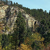 And a more panoramic view of the Natural Bridge located up Whitewood Creek canyon.