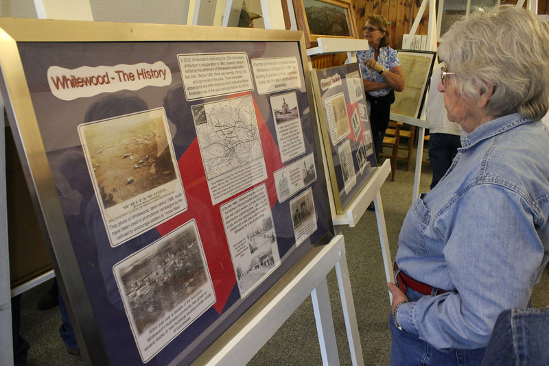 These exhibits were exceptionally well done.<br /> <br /> Click on the following images to get a closer look at the photos and narratives that outline several aspects of the early days of Whitewood.