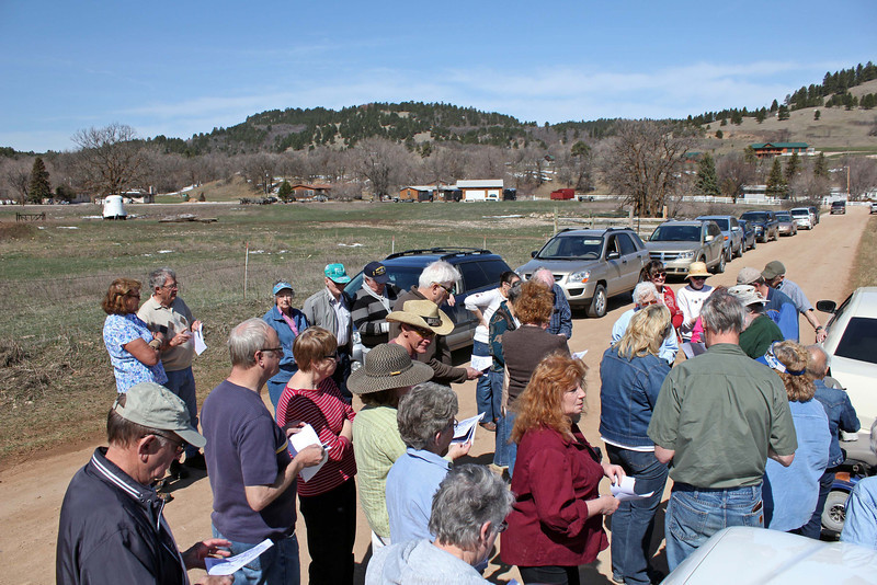 We had a nice group of folks from Deadwood, Spearfish, Lead, Whitewood, and other locales around the region.