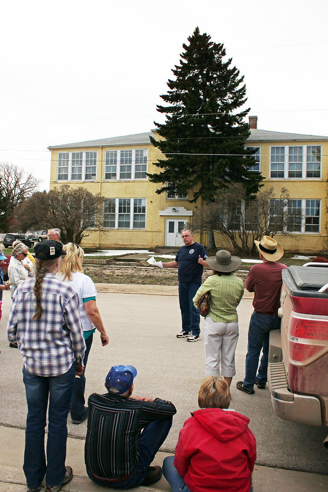 No one seems to know the exact date that the old school building was constructed in Whitewood; it remained in service as a school until a new school was built in 1993 and this building was sold.
