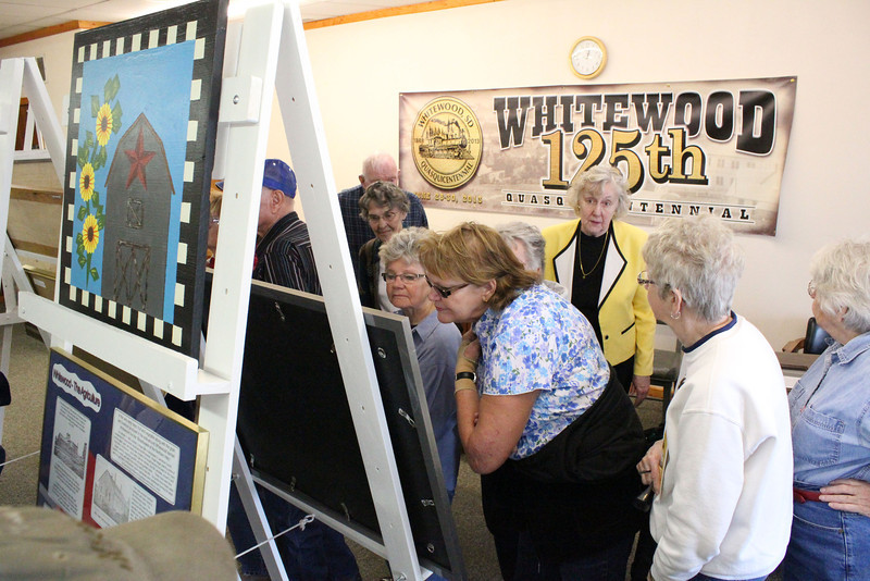 Some informative exhibits laid out the history of Whitewood over its 125 years.<br /> <br /> During Whitewood's big anniversary celebration, there'll be many more.  The event is scheduled for the last weekend in June.