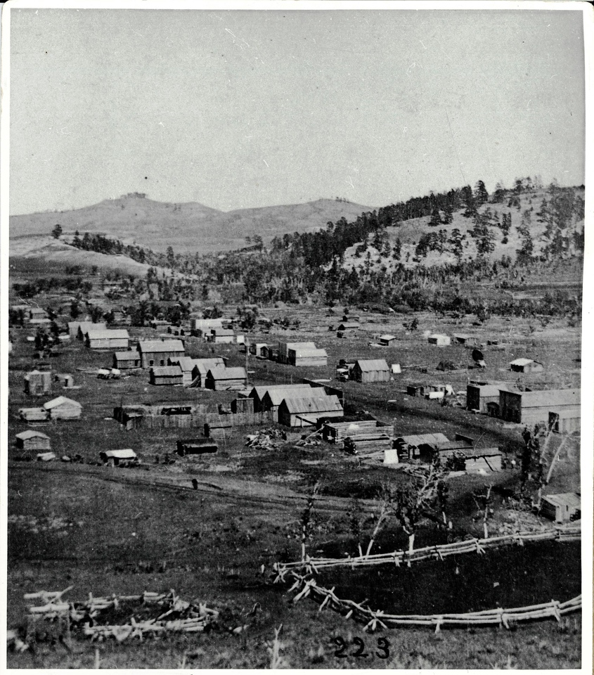 "Where we were headed might have looked something like this 137 years ago. Jerry Bryant shared this photo of Crook City, Dakota Territory, dated 1876.  Believed to be looking in a westwardly direction.<br /> <br /> This is one of those photographs you'll want to take a close look at, so we invite you to click on the image and select a larger image (we like ""X3"")."