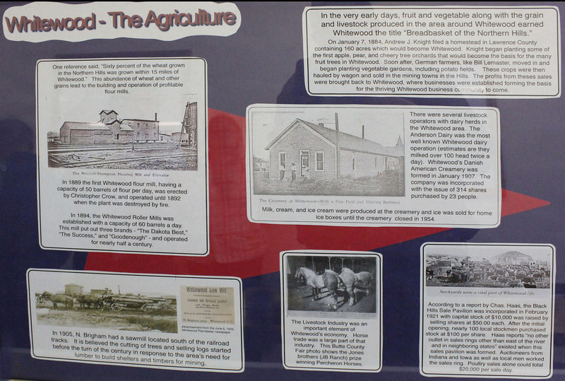 As you might expect, agriculture played a huge role in the development of the community.