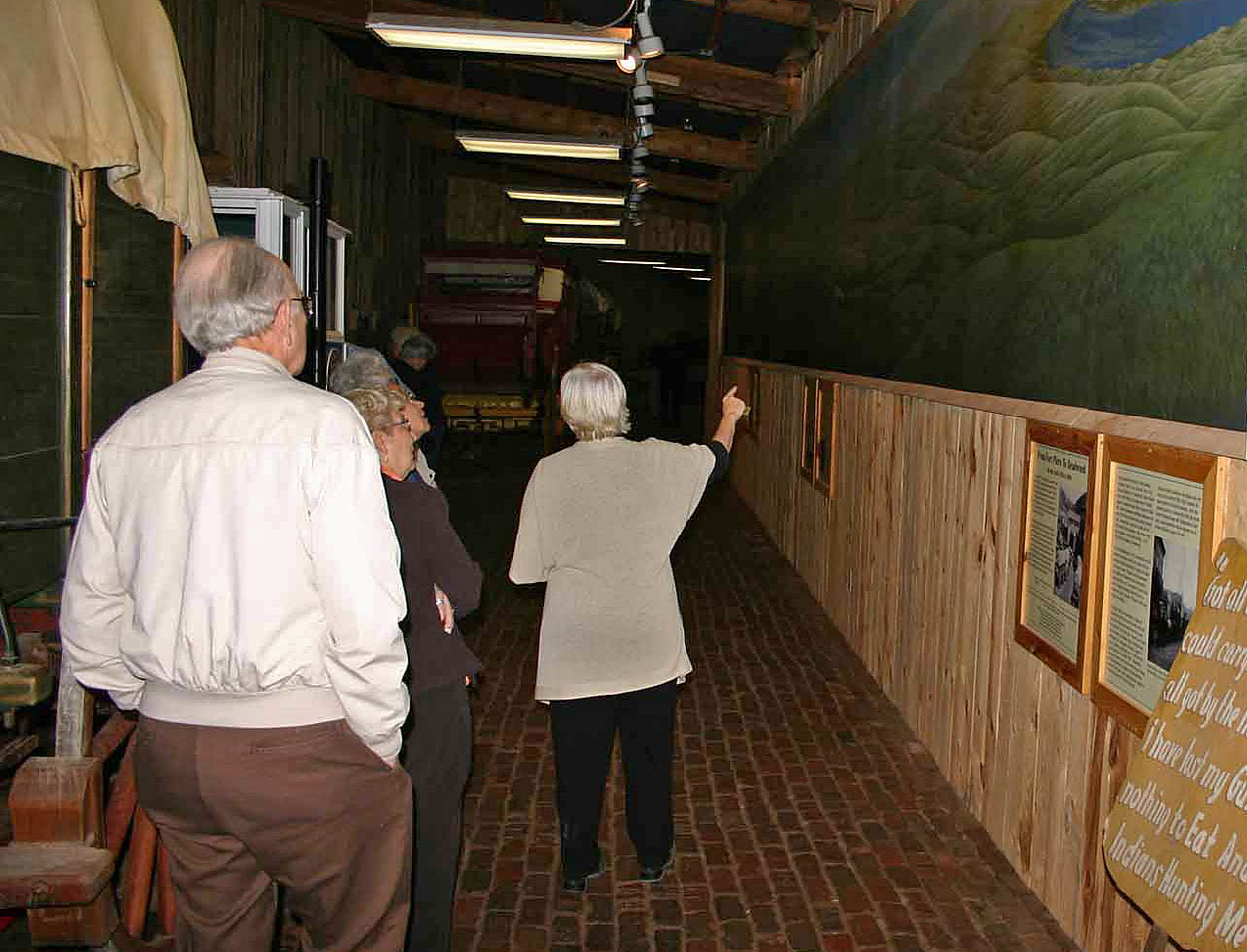 Some items won't be able to be saved as most exhibits and artifacts migrate to a new building.  Among the items that will not make the transition is this remarkable mural.