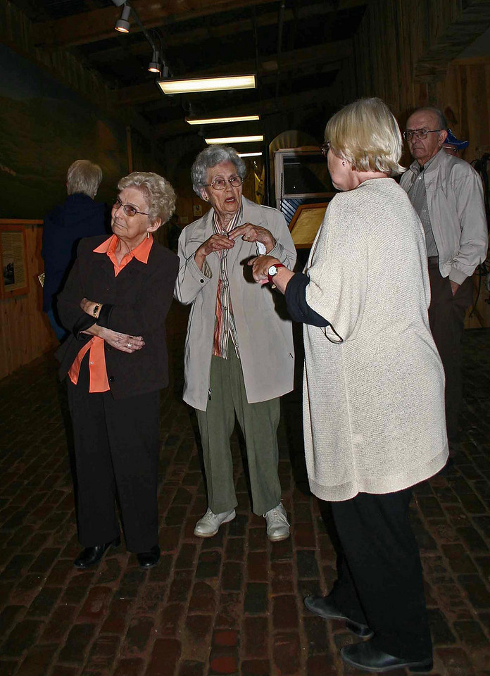 "LCHS members learn more about the impending museum move.<br /> <br /> In late 2009, the Days of '76 Museum secured a ""Save America's Treasures"" federal grant through the U.S. National Park Service.  It identified the Clowser Collection as an ""American Treasure"" and important to preserve.<br /> <br /> The $272,000 contained in the grant will help pay for the heating, ventilation, and air conditioning system in the new museum.  It will also help pay for conservation of some artifacts."